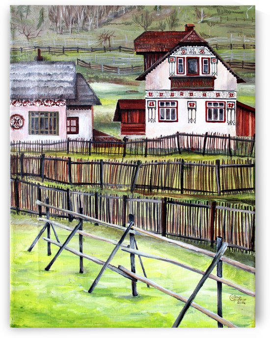 Landscape Transylvania Romania  by Nisuris Art