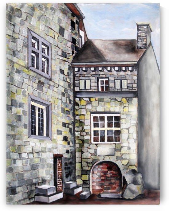 Liege Castle French Provenance  by Nisuris Art