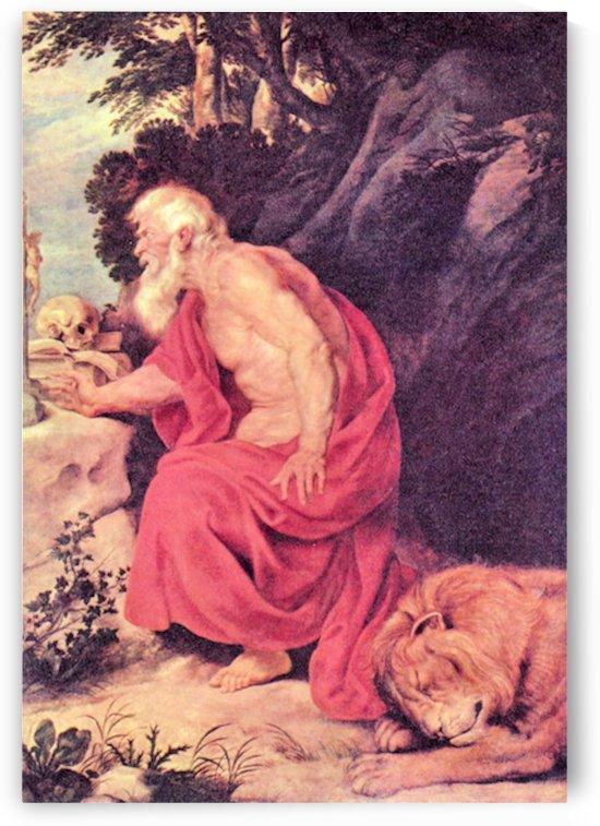 Hieronymus by Rubens by Rubens