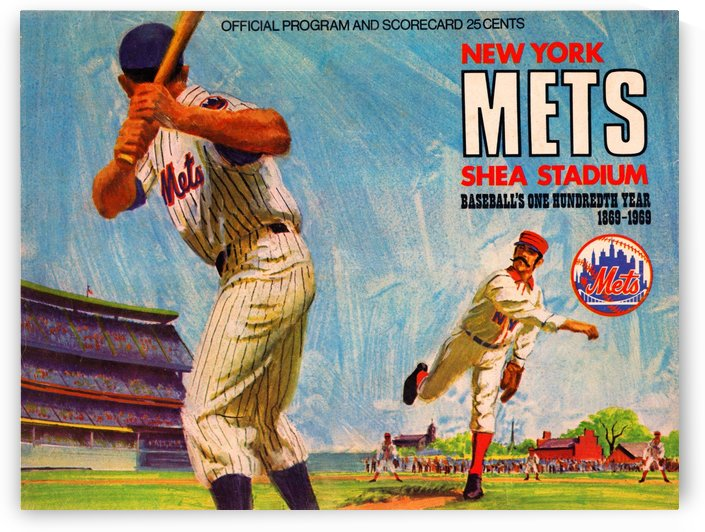 1969 New York Mets by Row One Brand