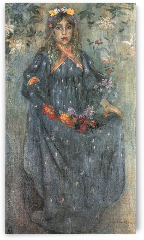 Autumn Flowers 2 by Lovis Corinth by Lovis Corinth