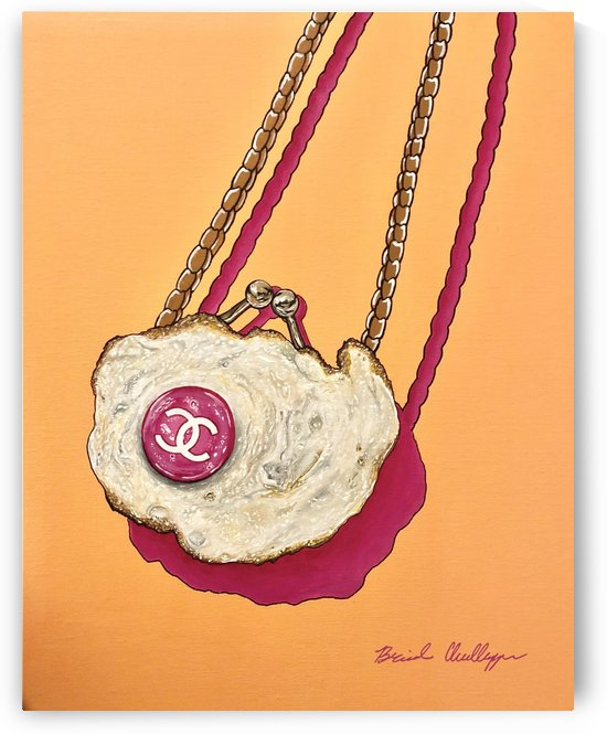 Chanel Fried Satchel by Brinda Chellappan