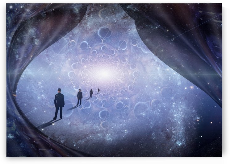 Man in Universe by Bruce Rolff