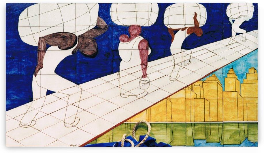 Murales Columbus Day 92 by Antonio Abussi