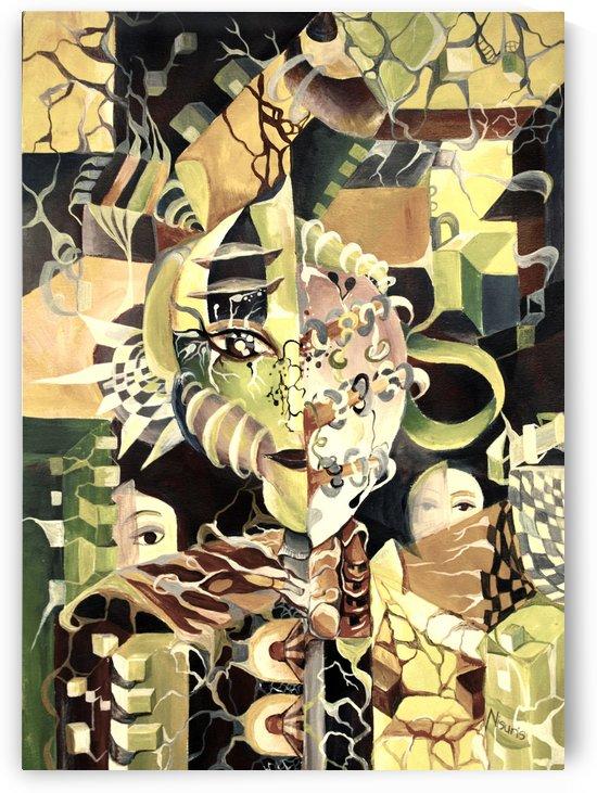 Pop Currealism Contemporary Utopia by Nisuris Art