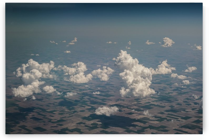 Puffy Cloud Day by Konstantin