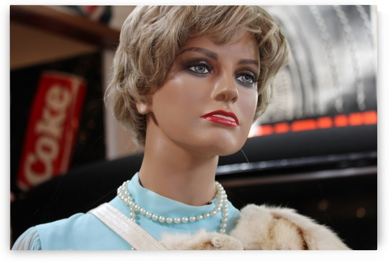 Vintage Mannequin Beauty Lady by tiana anderson