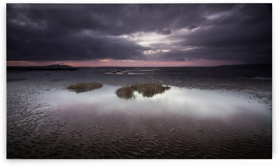 Machynys sunset by Leighton Collins