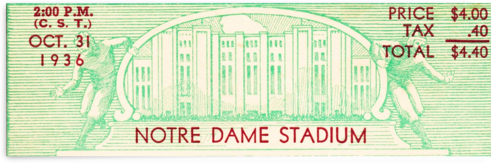 notre dame football fathers day gifts by Row One Brand