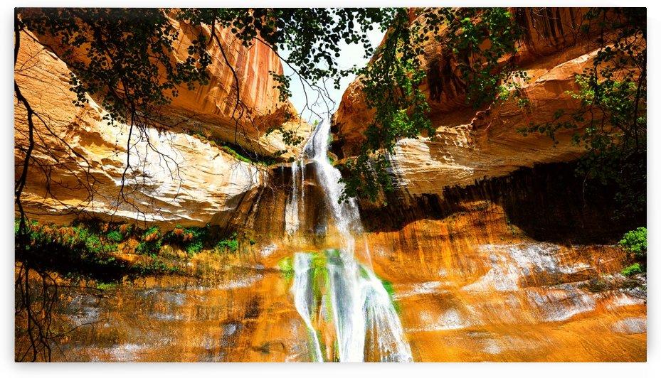 Calf Creek Falls by TJ Meagher