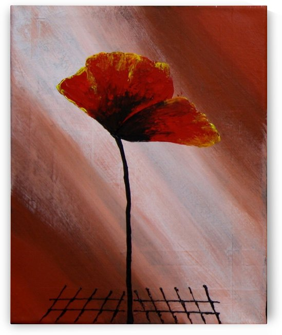 Poppy 2 by Iulia Paun ART Gallery