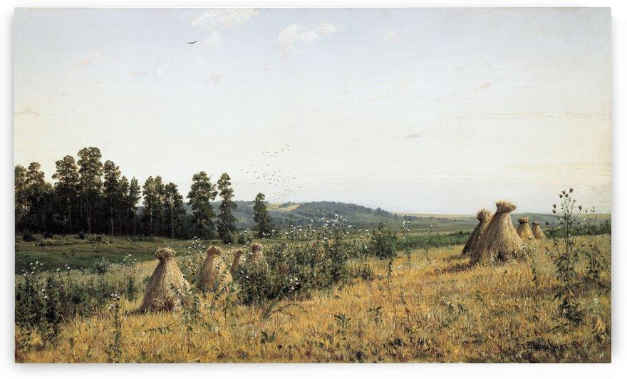 Polesie Landscape by Ivan Shishkin