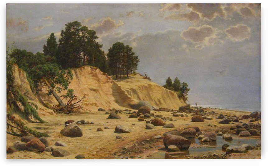 After a storm in Mary-Howe by Ivan Shishkin
