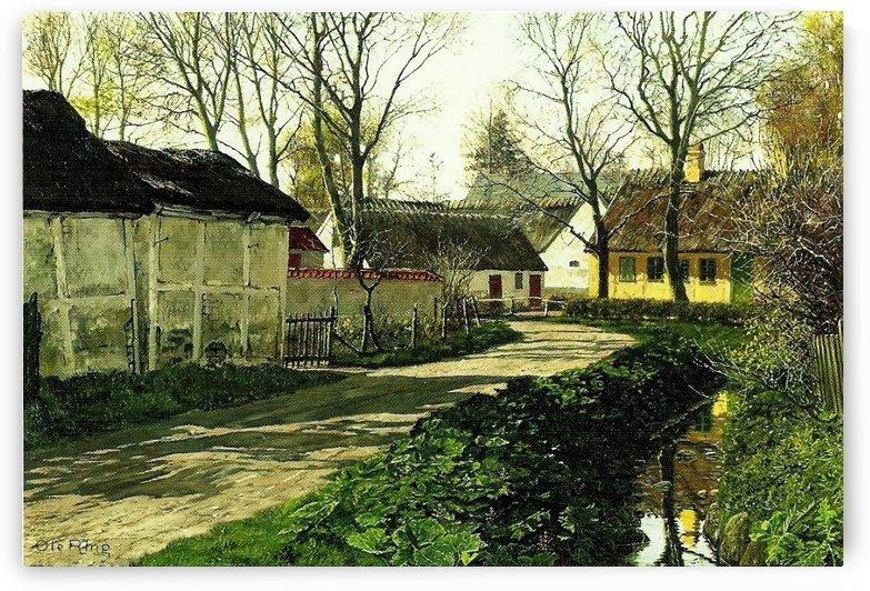 A sunny day by Ivan Shishkin