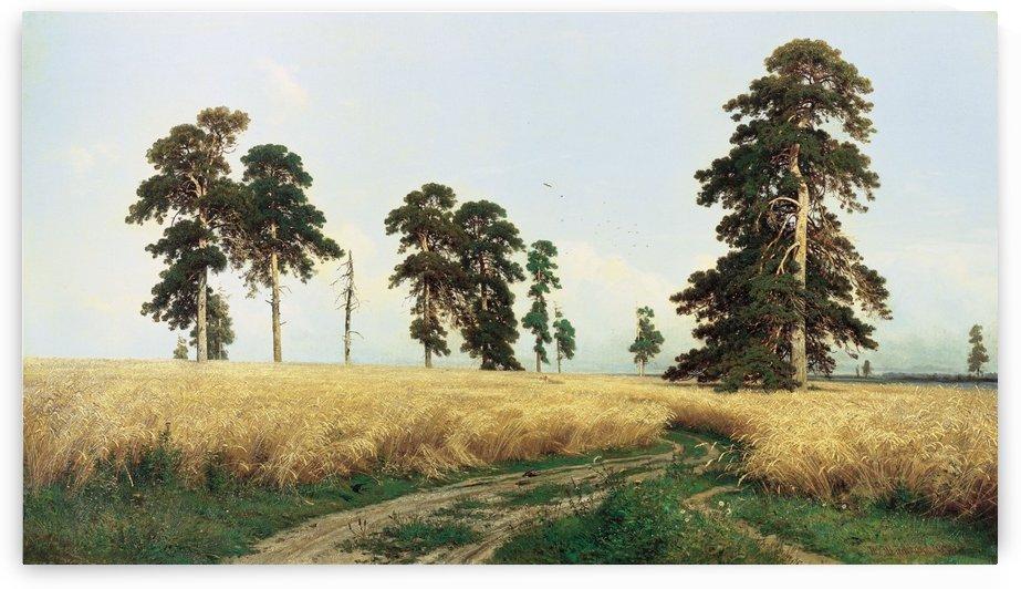 Rye Fields by Ivan Shishkin