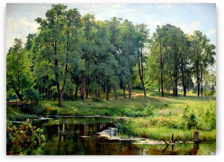 Im park anagoria by Ivan Shishkin