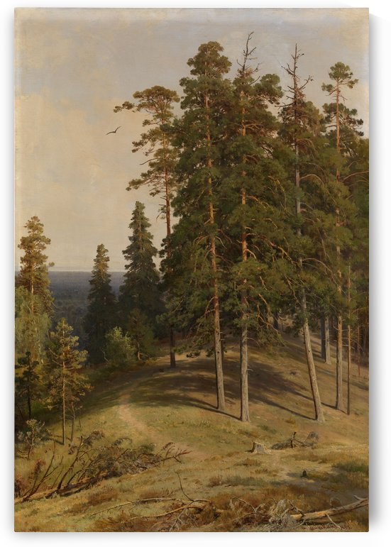 The Pine Forest by Ivan Shishkin