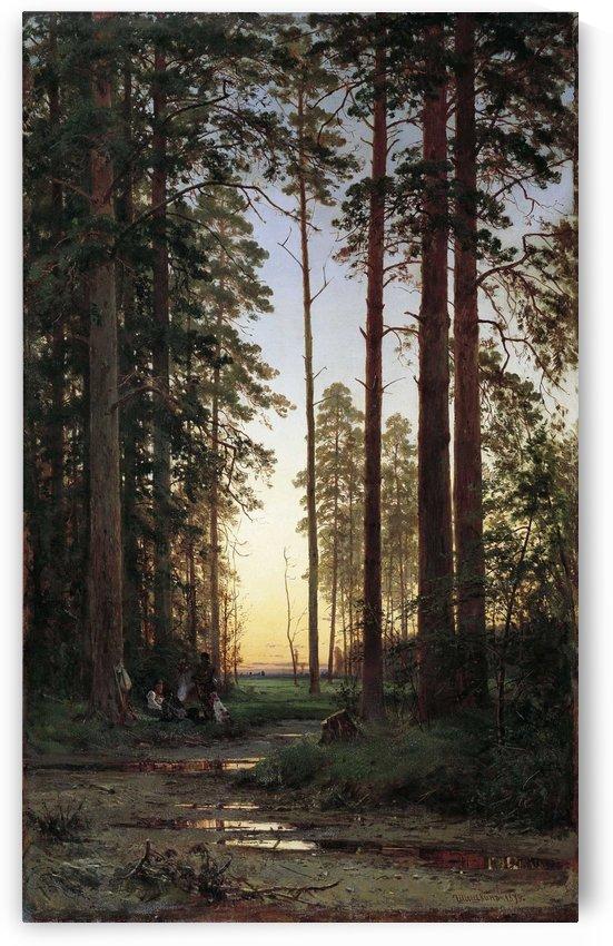 Opushka lesa by Ivan Shishkin