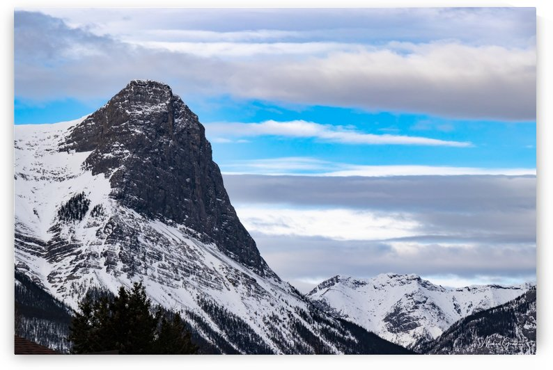 Ha Ling Mountain  by Mike Gould Photoscapes