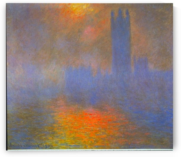 Houses of Parliament by Monet by Monet