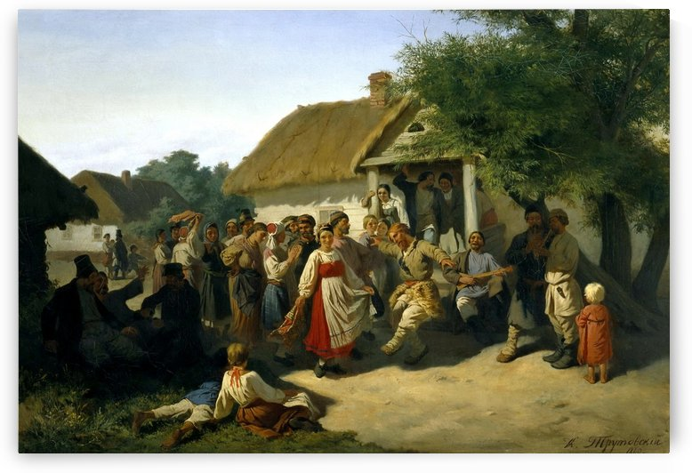 Round Dance in the Kursk Governorate by Konstantin Trutovsky
