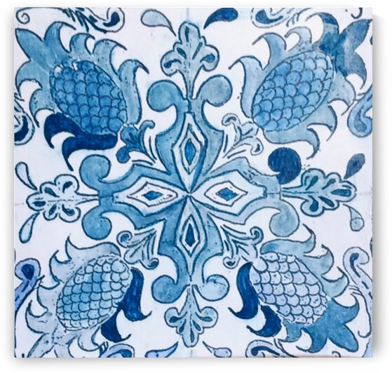 Portuguese Azulejos 2 by Zaramar Paintings
