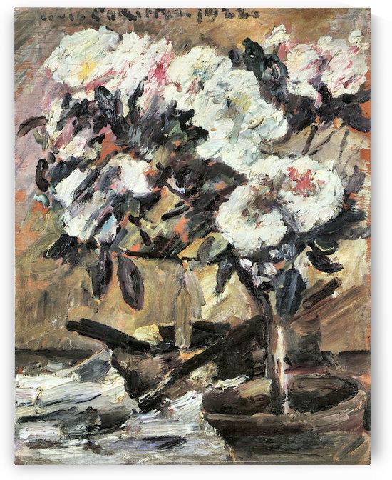 Azaleas by Lovis Corinth by Lovis Corinth