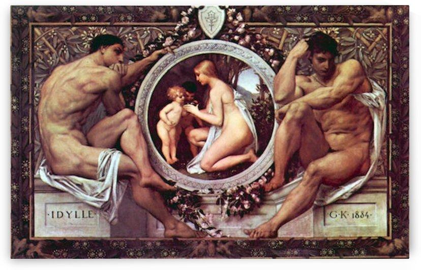 Idyll by Klimt by Klimt