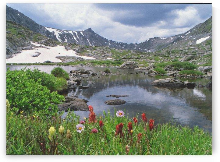 High Alpine Colorado Lake by Steve Tohari