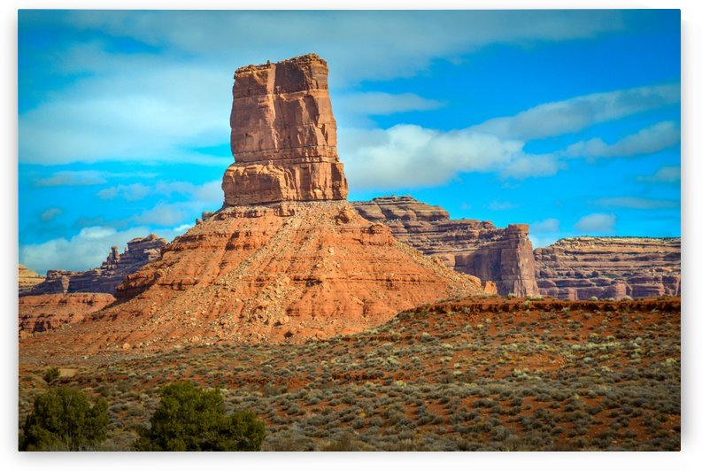 Rock formation landscape in Canyonlands Park Moab Utah USA by Francois Lariviere