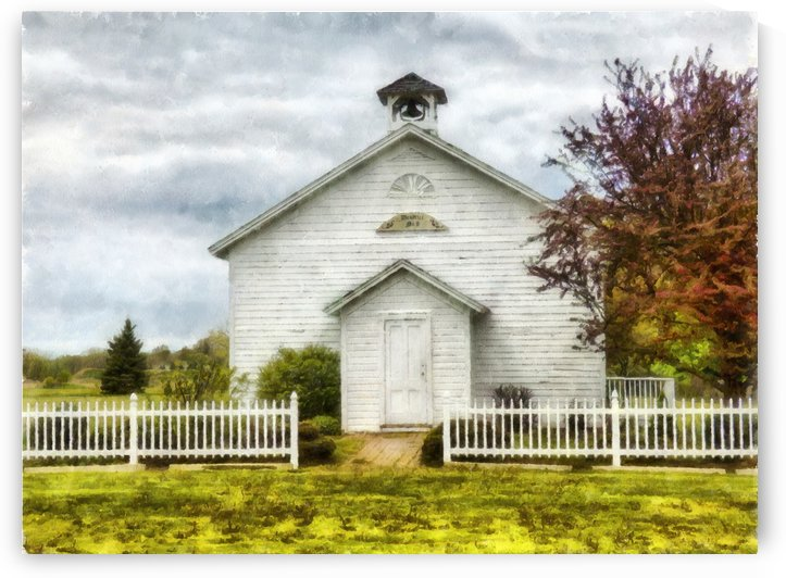 Old School House by Leslie Montgomery