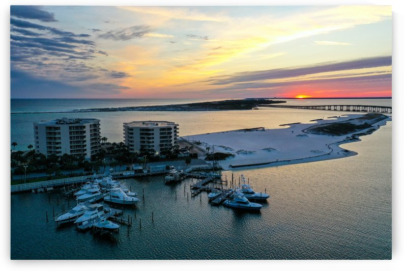 East Pass Towers YC by Destin30A Drone