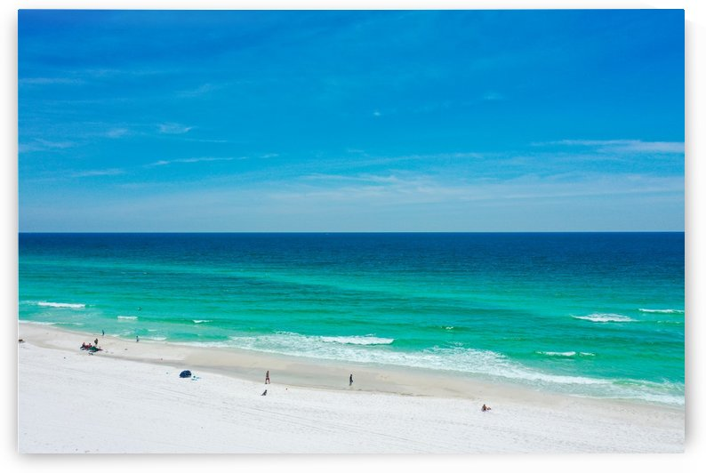 Sep Beach by Destin30A Drone