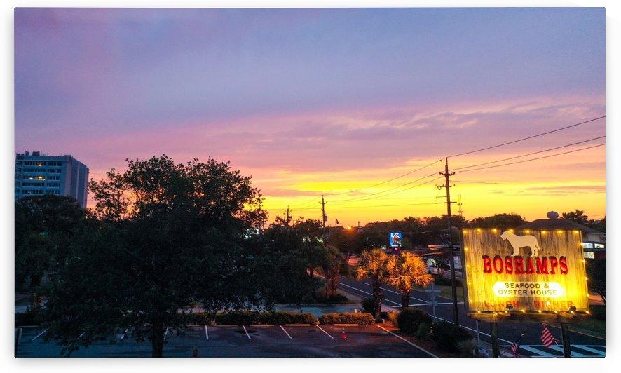 Boshamp Sunset by Destin30A Drone