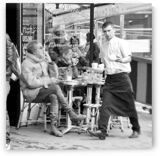 Cafe en face de Drouot by Bill Osuch