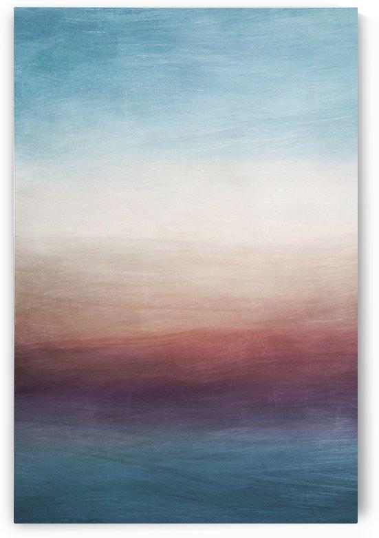 Misty Horizon 01 - Abstract Wall Art by Adriano Oliveira