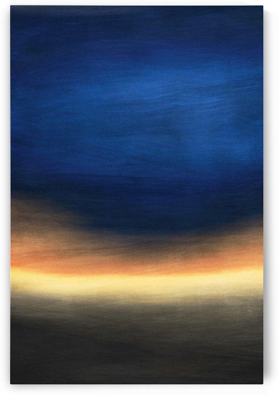 Misty Horizon 07 - Abstract Wall Art by Adriano Oliveira