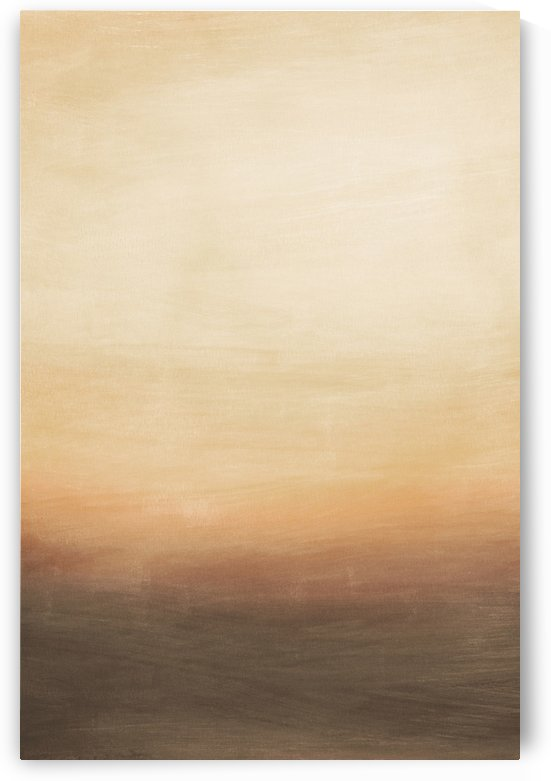 Misty Horizon 05 - Abstract Wall Art by Adriano Oliveira