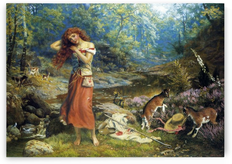 Audrey's Toilette by Edward Robert Hughes
