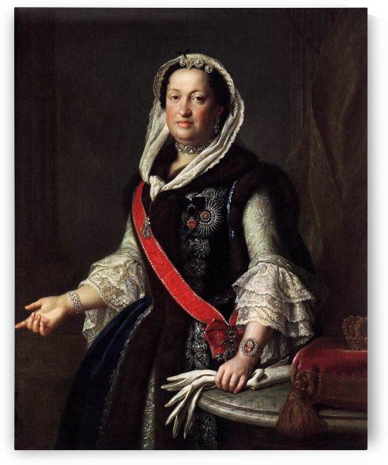 Queen Maria Josepha, Wife of King Augustus III of Poland by Pietro Antonio Rotari
