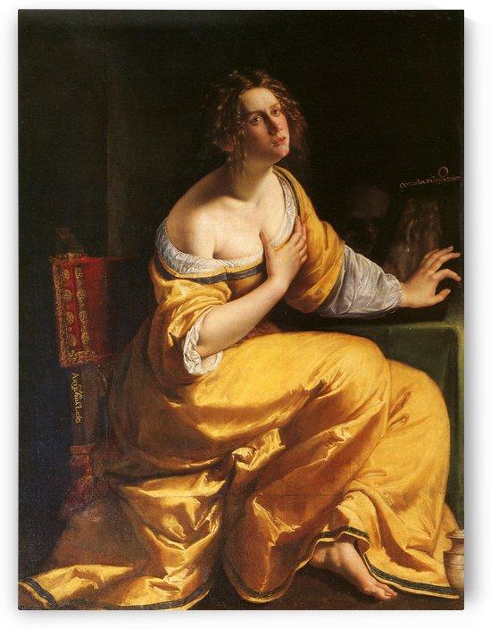 Maddalena by Artemisia Gentileschi