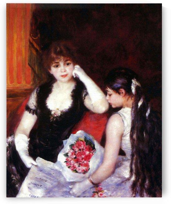 In the Loge by Renoir by Renoir