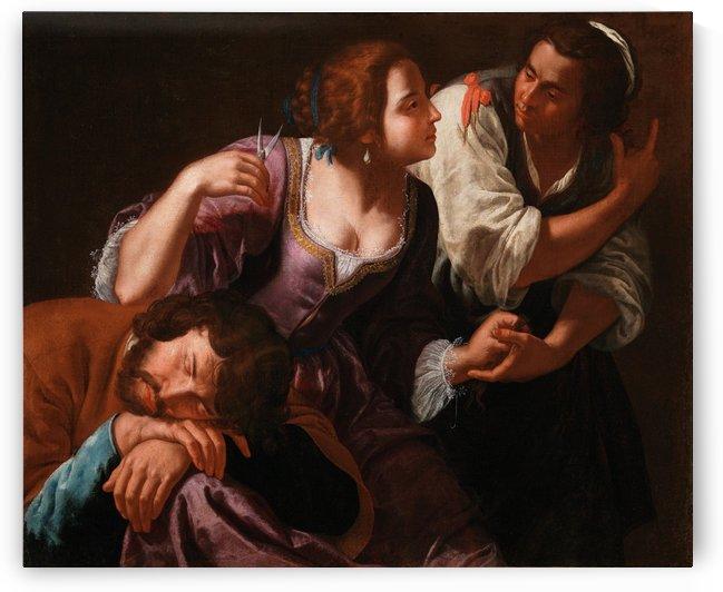 Sansone e Dalila by Artemisia Gentileschi