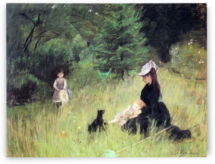 In the Meadow by Morisot by Morisot