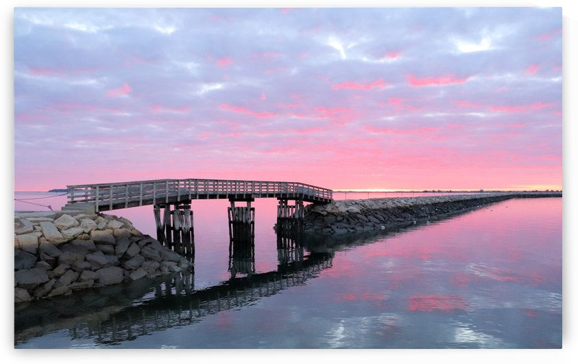 Jetty sunrise in May by Photography by Janice Drew