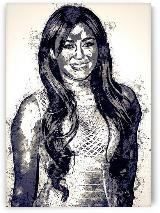 Miley Cyrus in Art 3 by RANGGA OZI