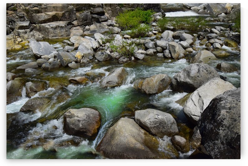 Clear Water Rock Creek by Frank Wilson