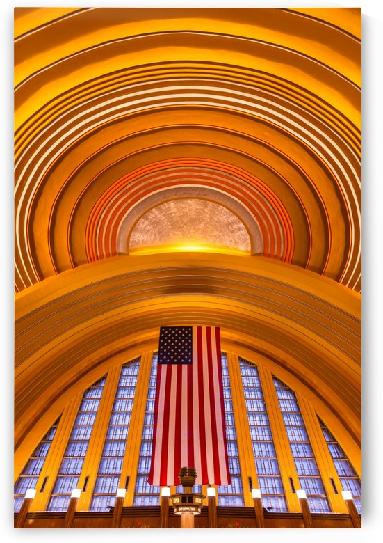 Historic Cincinnati Union Terminal Train Station by Gary Whitton