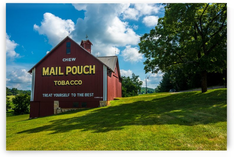 Mail Pouch Tobacco Barn - Indiana by Gary Whitton