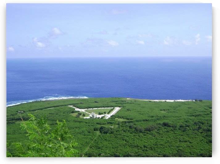 CNMI Veterans Cemetery aerial view by On da Raks